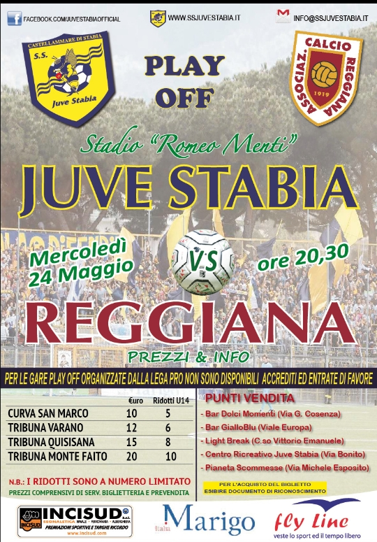 Juve Stabia-Reggiana