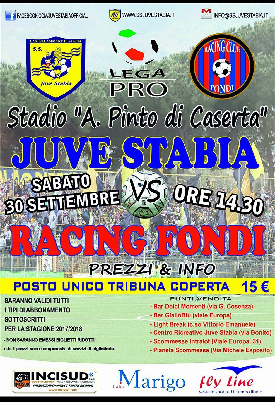 Juve Stabia-Racing Fondi