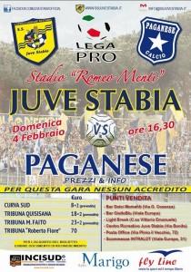 Juve Stabia-Paganese locandina