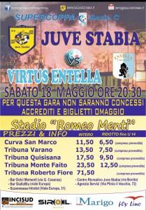 Juve Stabia-Virtus Entella prevendita